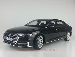 Dealer 1 18 Audi A8l 2018 diecast model car mo hinh o to
