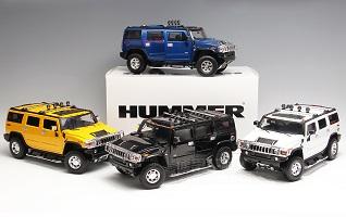 Highway61 Hummer H2 mo hinh o to diecast model car