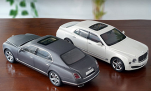 KYOSHO 1/18 BENTLEY MUSANNE SPEED