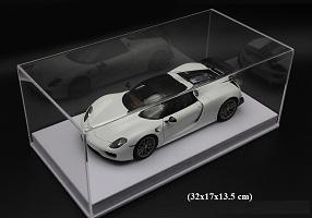 Hộp Mika trưng bày mô hình ô tô 1/18