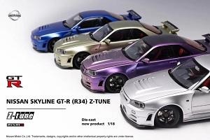 Mô hình Nissan Skyline GT-R Z-Tune MotorHelix 1:18